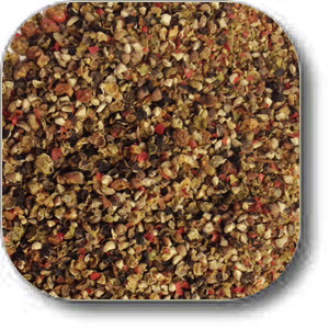 ground peppercorn trio