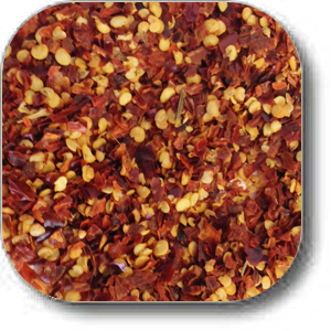 crushed red peppers