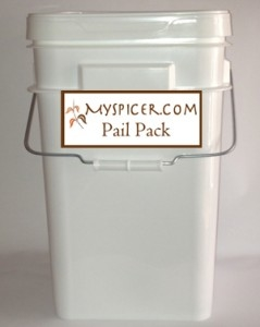 MySpicer.com pail pack