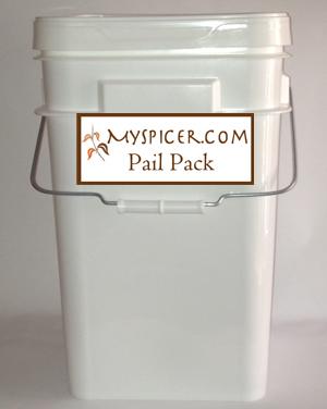 MySpicer.com pail pack