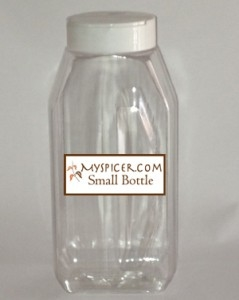 small bottle