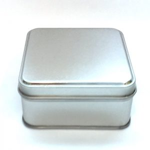 Square Metal Spice Tins