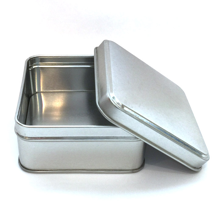 square metal spice tins herbs spices