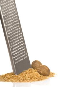 Grinding Whole Nutmeg