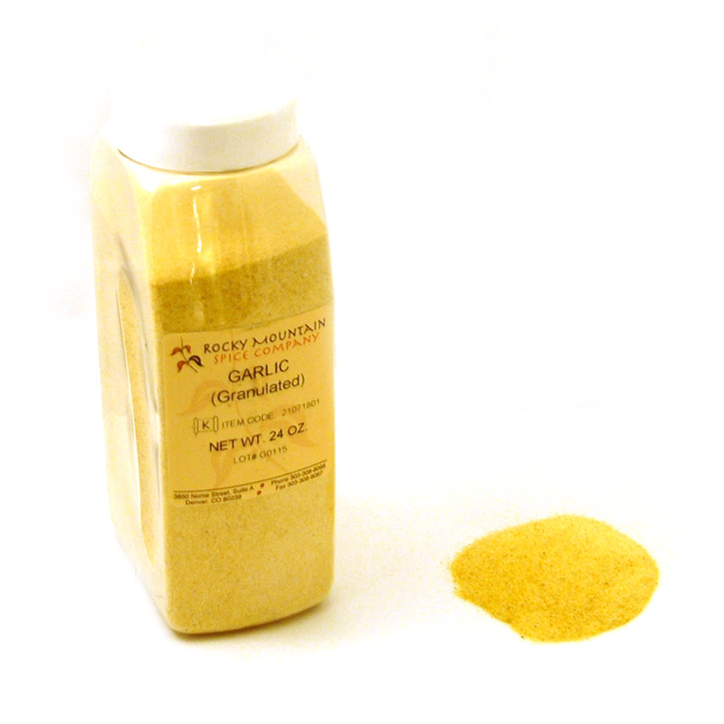 Granulated Garlic 24 oz sm bottle