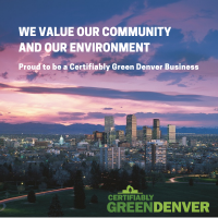 Certifiably Green Denver