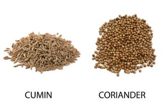 Difference between Cumin and Coriander