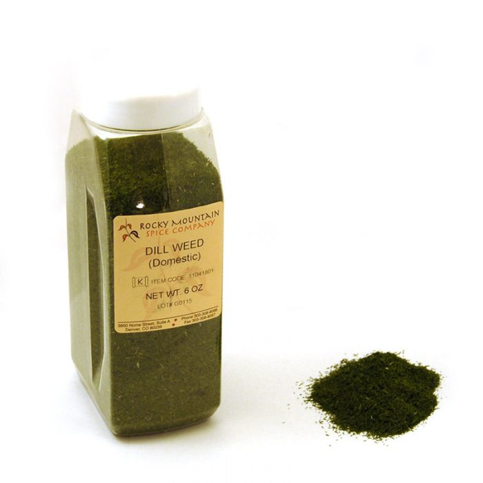 Dill Weed 6 oz Small Bottle