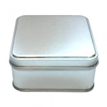 Square Metal Tin